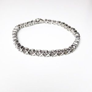 Jewelry - Diamond Accent Bracelet Sterling Silver